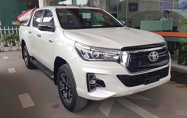 Bán Toyota Hilux 2.8G 4x4 AT 2019, màu trắng, nhập khẩu  0
