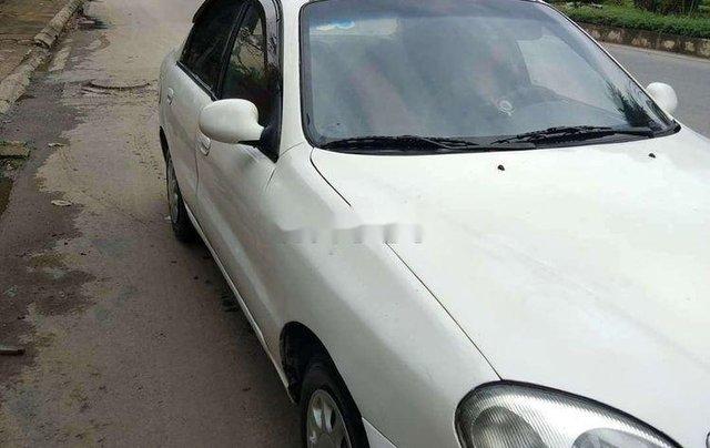 Cần bán xe Daewoo Lanos năm 2002, màu trắng0