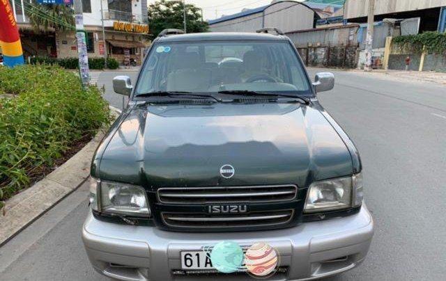 Bán Isuzu Trooper năm sản xuất 2002, nhập khẩu, màu xanh rêu1
