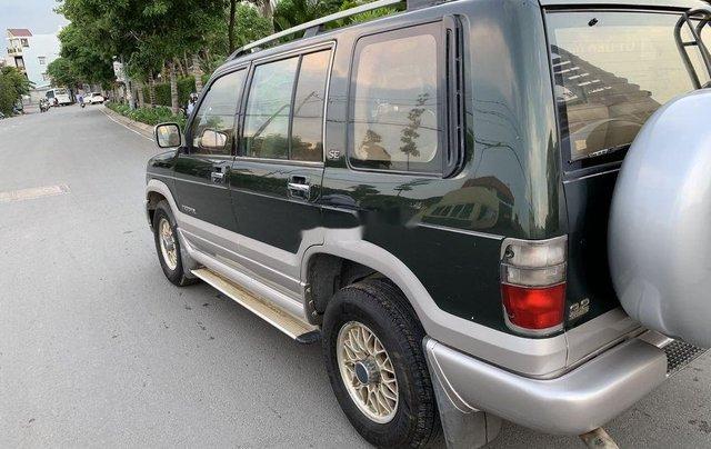 Bán Isuzu Trooper năm sản xuất 2002, nhập khẩu, màu xanh rêu0