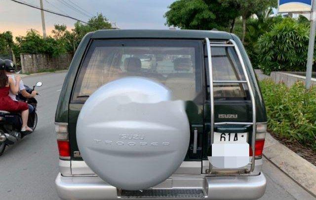 Bán Isuzu Trooper năm sản xuất 2002, nhập khẩu, màu xanh rêu9