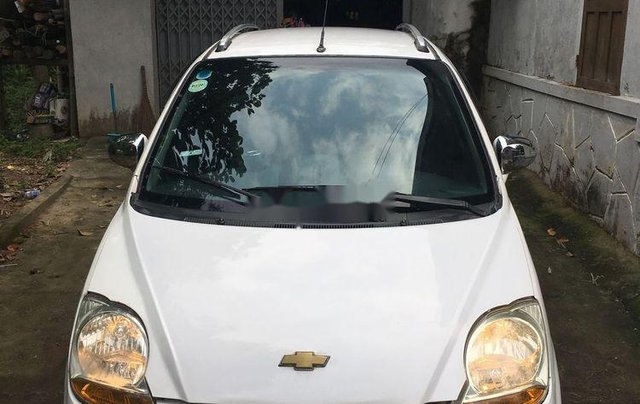 Bán xe Chevrolet Spark 2009, màu trắng, giá tốt1