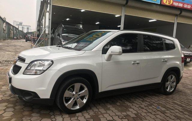 Cần bán Chevrolet Orlando LTZ 2017, đăng ký 2018 màu trắng0
