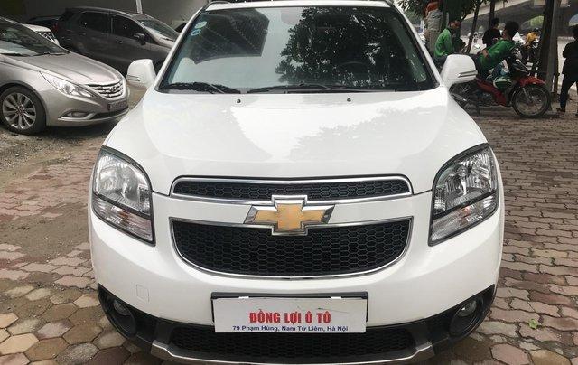 Cần bán Chevrolet Orlando LTZ 2017, đăng ký 2018 màu trắng1