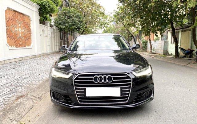 Bán Audi A6 2015 đăng ký 2017 màu đen nội thất kem  xe đẹp, không lỗi bao check tại hãng0