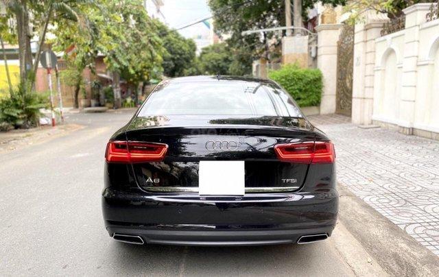 Bán Audi A6 2015 đăng ký 2017 màu đen nội thất kem  xe đẹp, không lỗi bao check tại hãng2