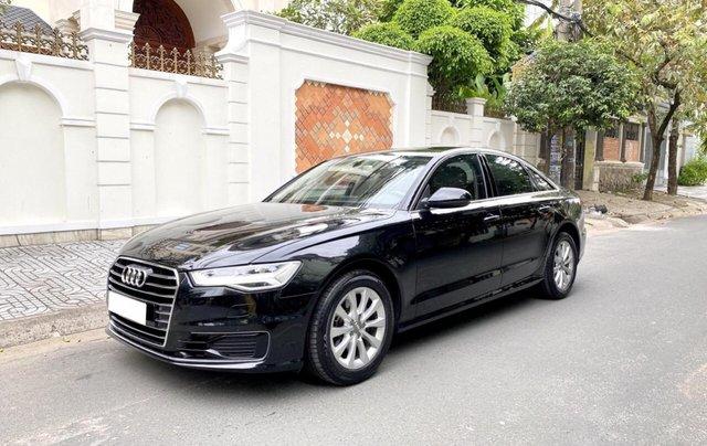 Bán Audi A6 2015 đăng ký 2017 màu đen nội thất kem  xe đẹp, không lỗi bao check tại hãng1