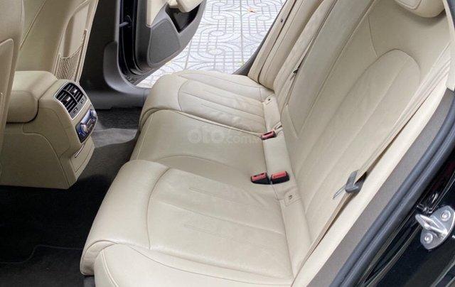 Bán Audi A6 2015 đăng ký 2017 màu đen nội thất kem  xe đẹp, không lỗi bao check tại hãng5