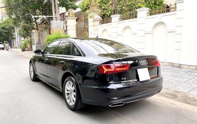 Bán Audi A6 2015 đăng ký 2017 màu đen nội thất kem  xe đẹp, không lỗi bao check tại hãng3