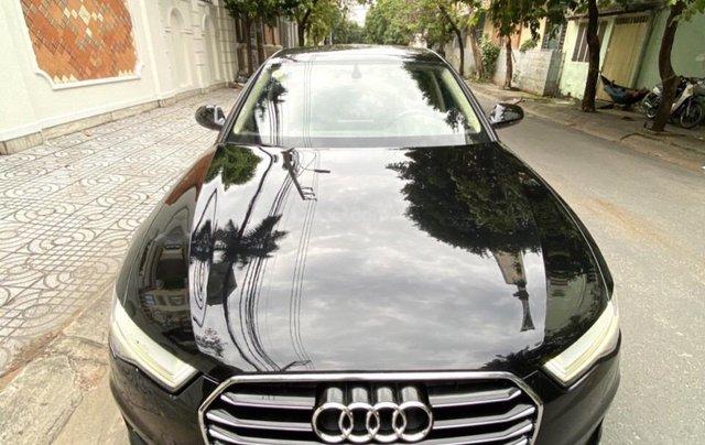 Bán Audi A6 2015 đăng ký 2017 màu đen nội thất kem  xe đẹp, không lỗi bao check tại hãng8