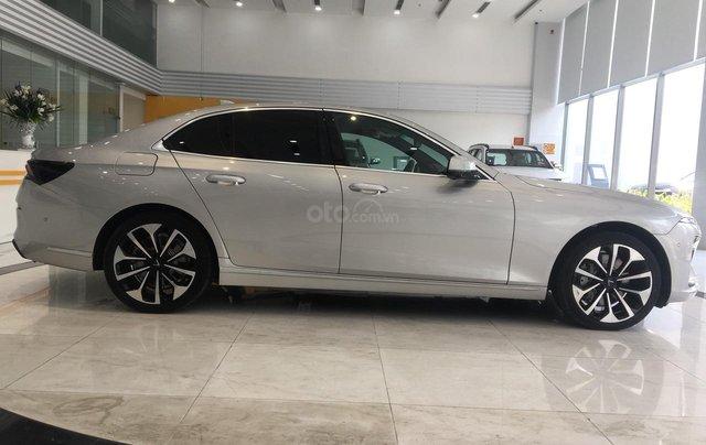 Bán xe VinFast LUX A2.0 full-Da Nappa Nâu 2019, màu bạc 0911234775 em Long1