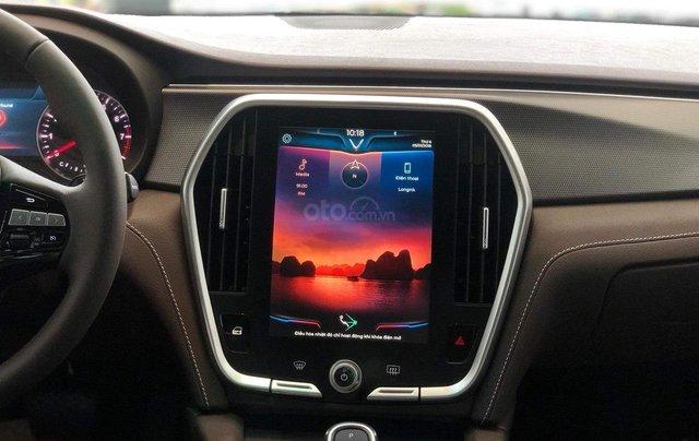 Bán xe VinFast LUX A2.0 full-Da Nappa Nâu 2019, màu bạc 0911234775 em Long4
