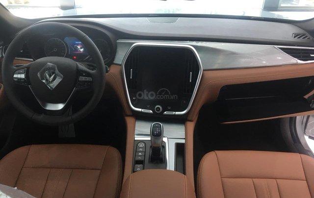 Bán xe VinFast LUX A2.0 full-Da Nappa Nâu 2019, màu bạc 0911234775 em Long12