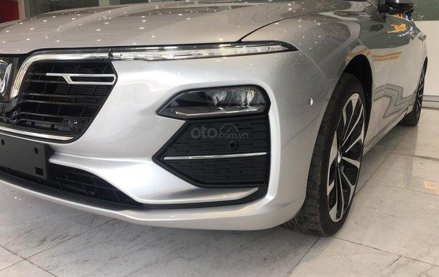 Bán xe VinFast LUX A2.0 full-Da Nappa Nâu 2019, màu bạc 0911234775 em Long13