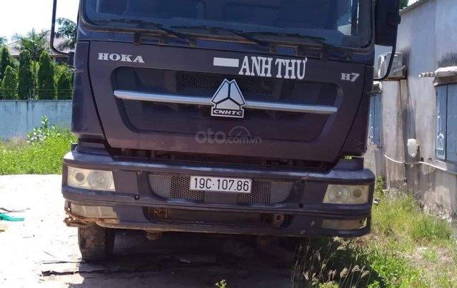 Cần bán xe Howo Xe ben sản xuất năm 2014, màu bạc6