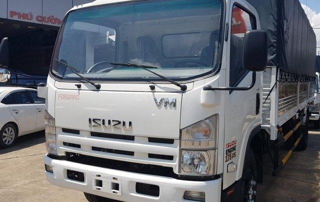 Xe Isuzu 8T2 thùng 7m xe đời 219 - trả trước 150tr nhận xe0