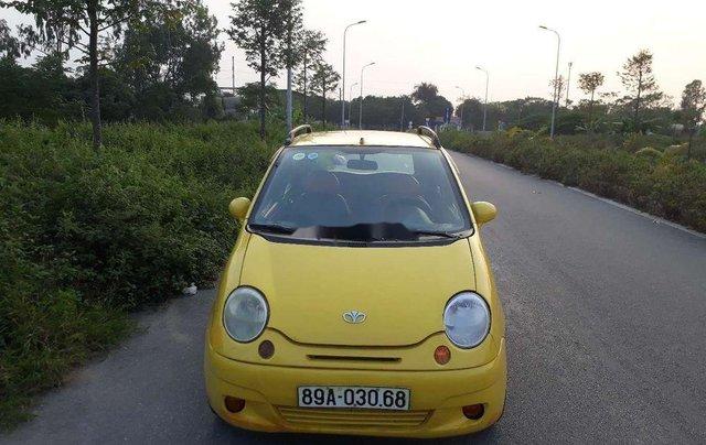 Cần bán xe Daewoo Matiz năm sản xuất 2008, màu vàng, xe nhập chính hãng0