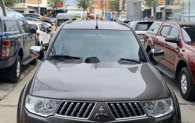 Bán ô tô Mitsubishi Pajero 2011, màu nâu, máy êm ru1