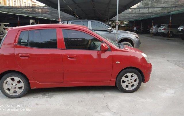 Bán Kia Morning năm sản xuất 2007, màu đỏ, nhập khẩu0