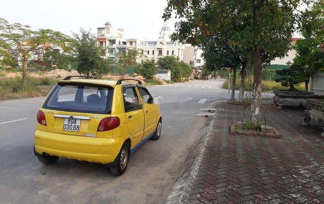 Cần bán xe Daewoo Matiz năm sản xuất 2008, màu vàng, xe nhập chính hãng3