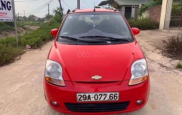 Cần bán Chevrolet Spark 2010, màu đỏ, số sàn, giá tốt0