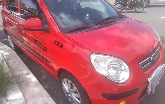 Cần bán gấp Kia Morning đời 2011, màu đỏ xe gia đình giá cạnh tranh0