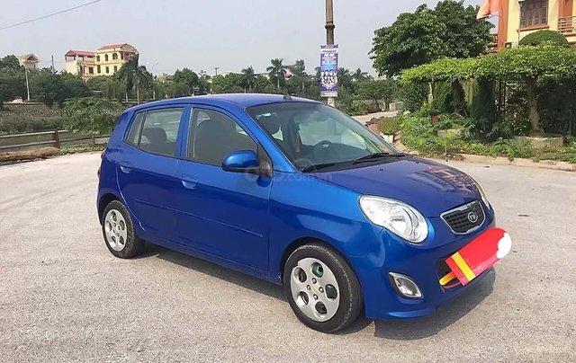 Cần bán xe Kia Morning năm sản xuất 2011, màu xanh lam, giá tốt0