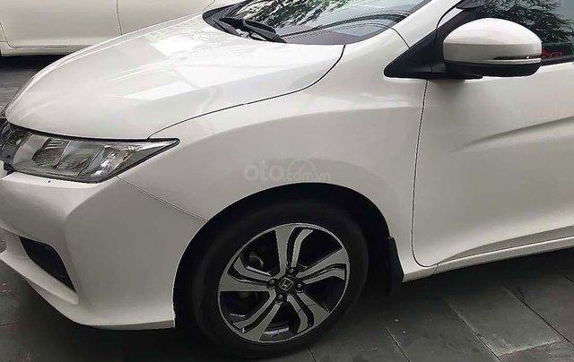 Bán ô tô Honda City 2015, màu trắng xe gia đình, giá tốt2