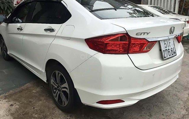 Bán ô tô Honda City 2015, màu trắng xe gia đình, giá tốt4