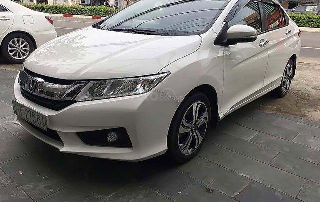 Bán ô tô Honda City 2015, màu trắng xe gia đình, giá tốt0