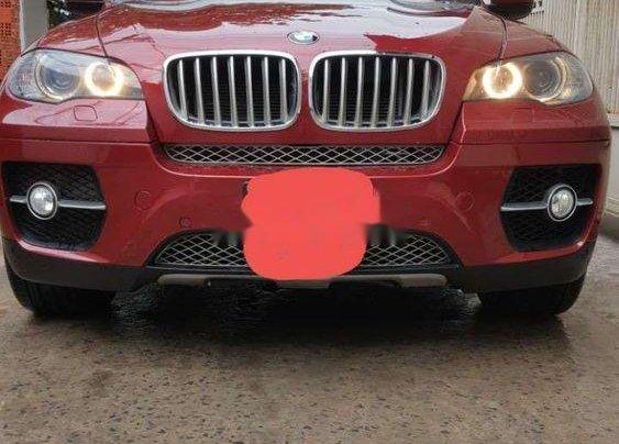 Bán BMW X6 Xdrive 3.5i 2008, màu đỏ, nhập khẩu0