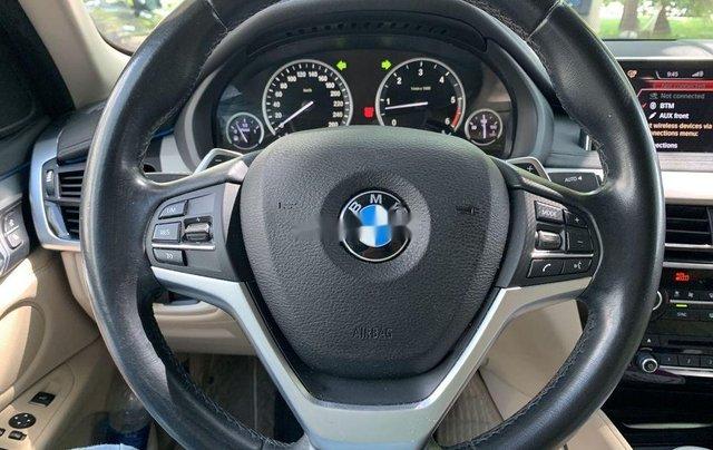 Cần bán xe BMW X6 đời 2014, màu trắng, nhập khẩu nguyên chiếc xe gia đình7
