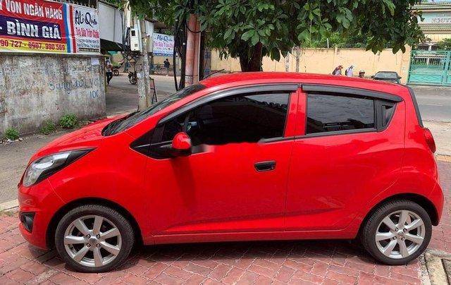 Bán ô tô Chevrolet Spark MT đời 2016, màu đỏ, nhập khẩu số sàn, 235tr1