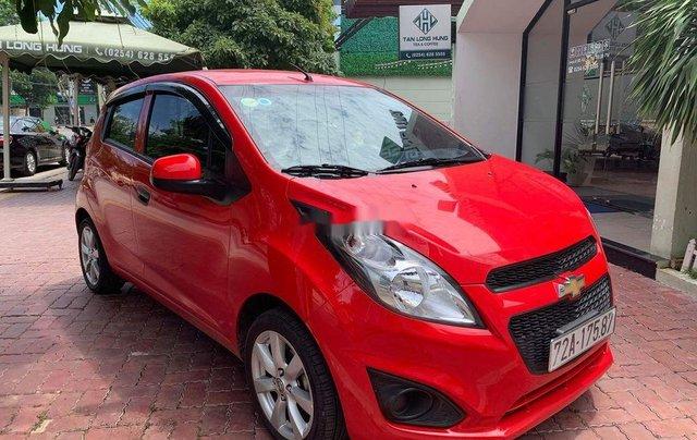 Bán ô tô Chevrolet Spark MT đời 2016, màu đỏ, nhập khẩu số sàn, 235tr0