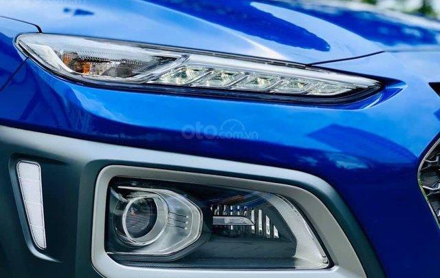Bán ô tô Hyundai Kona đời 2019, màu xanh lam nhập khẩu nguyên chiếc giá 694 triệu đồng3