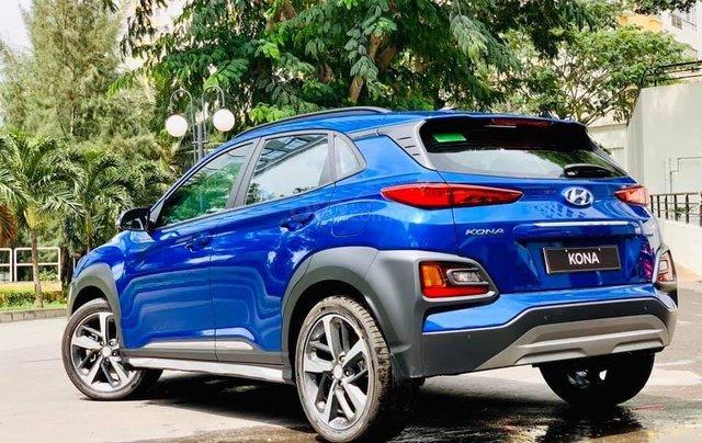 Bán ô tô Hyundai Kona đời 2019, màu xanh lam nhập khẩu nguyên chiếc giá 694 triệu đồng0