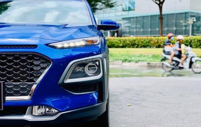 Bán ô tô Hyundai Kona đời 2019, màu xanh lam nhập khẩu nguyên chiếc giá 694 triệu đồng4