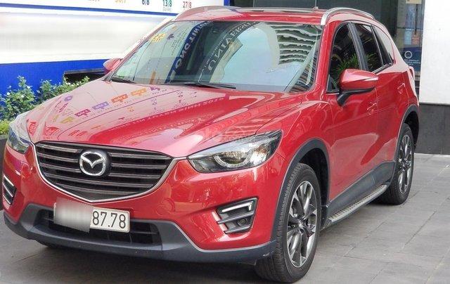 Cần bán xe Mazda CX-5 2017, màu đỏ, biển TP. HCM đẹp, giá tốt