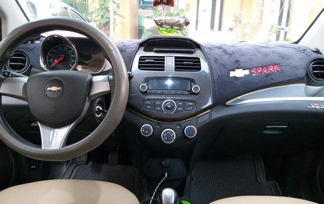 Bán Chevrolet Spark LS năm sản xuất 2015, màu bạc1
