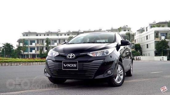 Bán xe Toyota Vios 1.5G 2019 màu đen - giá 570tr (Khuyến mãi tiền mặt tháng 11)3