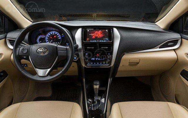 Bán xe Toyota Vios 1.5G 2019 màu đen - giá 570tr (Khuyến mãi tiền mặt tháng 11)4