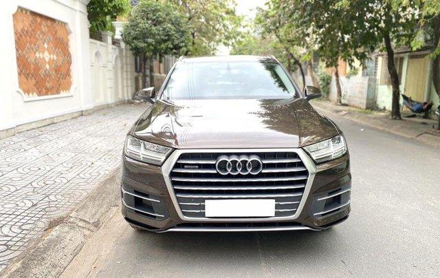 Cần bán Audi Q7 3.0 AT đời 2016, màu nâu, xe nhập0