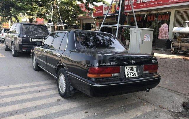 Bán Toyota Crown đời 1993, màu đen, nhập khẩu nguyên chiếc chính chủ0