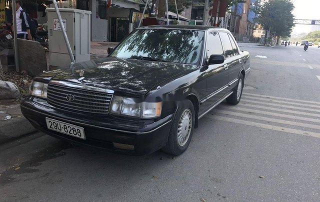 Bán Toyota Crown đời 1993, màu đen, nhập khẩu nguyên chiếc chính chủ1