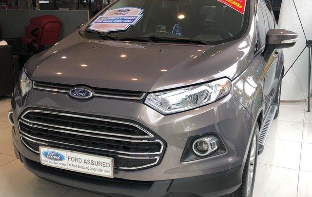 Bán xe Ford EcoSport sản xuất 2016, màu nâu, xe gia đình giá tốt 514 triệu đồng0