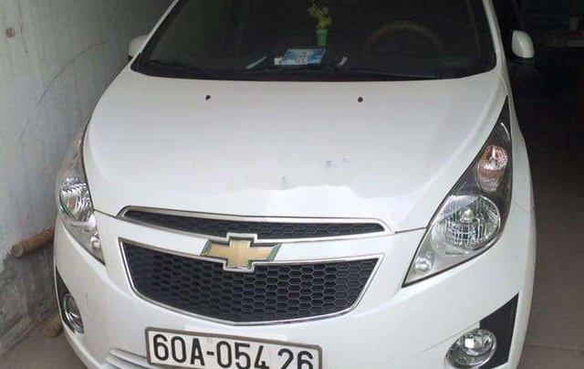 Bán Chevrolet Spark năm sản xuất 2013, màu trắng, xe nhập xe gia đình0