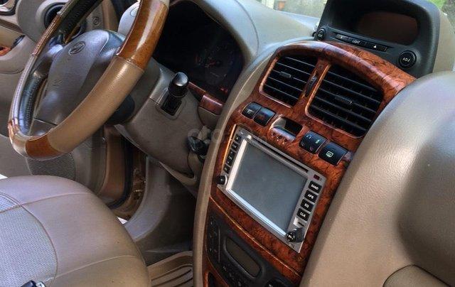 Bán Hyundai Santa Fe sản xuất năm 2003, màu nâu, nhập khẩu nguyên chiếc, giá 250tr4