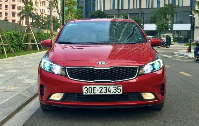 Bán xe Kia Cerato năm sản xuất 2016, màu đỏ, giá chỉ 579 triệu2