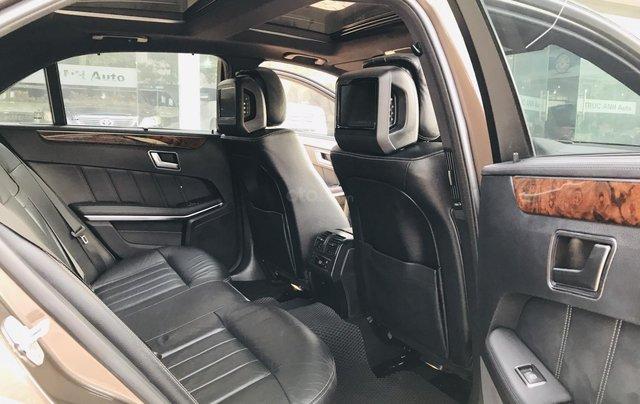 Cần bán xe Mercedes E400 đời 2014, màu nâu, bản cao cấp nhất, sang trọng nhất dòng E Class22