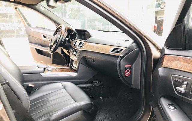 Cần bán xe Mercedes E400 đời 2014, màu nâu, bản cao cấp nhất, sang trọng nhất dòng E Class19